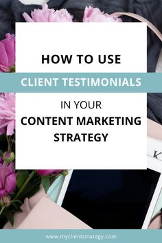 How To Use Client Testimonials In Your Content Marketing Strategy | My Client Strategy Client testimonials are especially important for service-based businesses, as they need to convince clients that they will receive the quality of service they've been promised. In this blog post below, I am sharing 10 ways to use client testimonials in your content marketing strategy. Click on the link below to read the blog #contentmarketing #contentmarketingtips Marketing Budget, Small Business Marketing, Business Tips, Marketing Strategy Template, Content Marketing Strategy, Twitter Tips, Thing 1, Instagram Tips, Small Businesses
