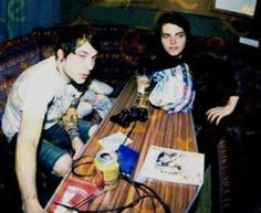 Frank and Gerard, the early days
