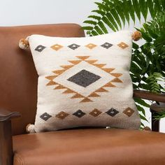World Menagerie Secrest Wool Geometric Throw Pillow Cover Colour: Mustard Accent Pillows, Floor Pillows, Rooftop Decor, Throw Pillow Covers, Throw Pillows, Southwest Style, Cushion Pads, Handmade Pillows, Pillow Design