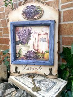 Купить Ключница Аромат Лаванды - комбинированный, лаванда, прованс, прованский стиль, ключница