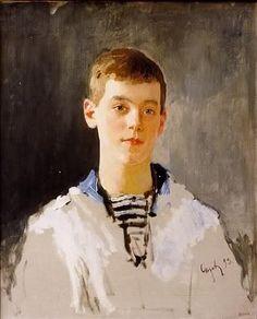 Grand Duke Michael Alexandrovich, painting by Serov.