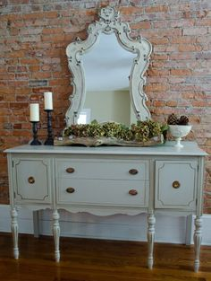 One of my favorite obsessions is painted furniture.  What better dayto look at before and after photos of painted furnit...