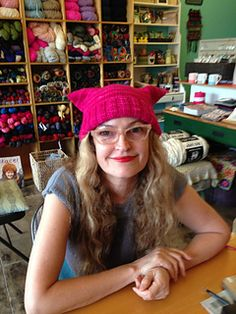Knit a pussyhat for the Women's March on Washington, 1/21/17! Easy pattern, quick knit, make it with love.
