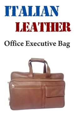 Fine quality Italian leather office bags at Leather bags market www.bagsmarket.in