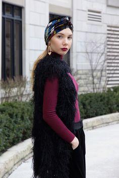 Urban Turban: Zara Velvet Hat