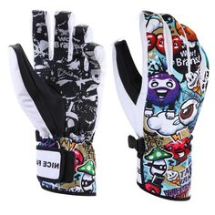 Cool Winter Gloves for Men and Women - Snowboarding\Skiing -  Waterproof\Windproof