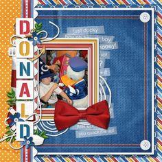 Disney Scrapbook Doanld