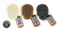 Fiona Goldthorpe - Products - dia de los muertos inspired soaps. Graphic Designer from Johannesburg - www.fionagoldthorpe.co.za