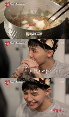 How did G-Dragon do with his cooking on 'Thank You'?