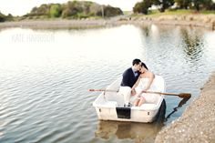 Mountain View Engagement Boat.