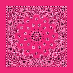 thebandannacompany.com traditional paisley in hot pink