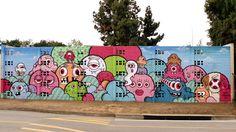 BrandedArts Graffiti, Sidewalk, Snoopy, Street, Artist, Projects, Image, Fictional Characters, Log Projects