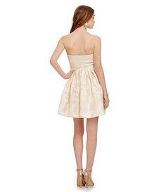 GB Cutout Illusion Dress