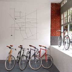 The Tokyo Bike Store by Emulsion is a Perfect Pop-Up Shop #windowdisplays #marketing trendhunter.com