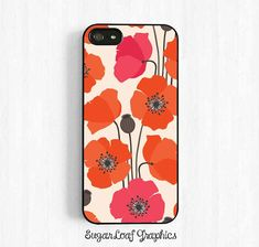 Poppy Flower iPhone Case Samsung Galaxy S3 S4 by SugarloafGraphics, $15.95