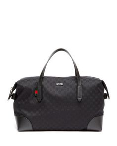 GG+Canvas+Carry-On+Duffel+Bag+by+Gucci+at+Neiman+Marcus.