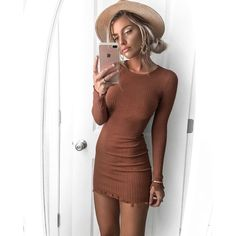 The perfect fall dress..