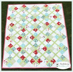 Vintage Holiday Preppy Quilt Kit Bonnie & Camille Moda