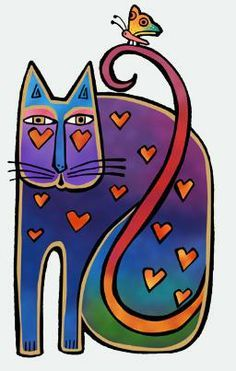 laurel burch fantastic felines - Google Search
