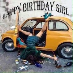 40 Best Funny and Sarcastic Happy Birthday Memes Sarcastic Happy Birthday, Funny Happy Birthday Wishes, Happy Birthday Best Friend, Happy Birthday Girls, Happy Birthday Images, Funny Birthday, Birthday Greetings, Birthday Ideas, Nice Birthday Messages