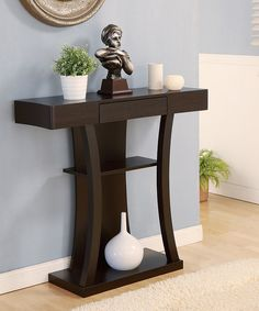 Furniture Of America Malenzo Podium Inspired Coffee Table Cappuccino Based in California, Furniture of America has spent more than 20 years establishi. Room Decor, Decor, Home Decor Furniture, Entryway Furniture, Diy Home Decor, Entryway Tables, Entryway Decor, Coffee Table, Furniture Decor