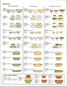 this links to lots of lovely photos of pyrex *swoon*