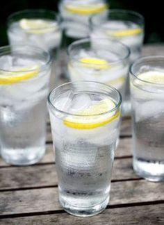 Water with lemon... drink it every day