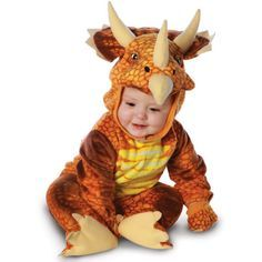 Picture of Triceratops Dinosaur Costume - Infant / Toddler
