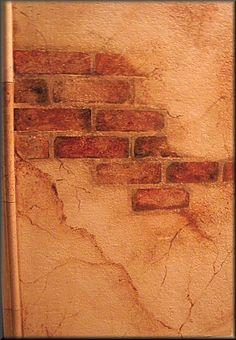 faux finish brick | Faux Finishes . . .
