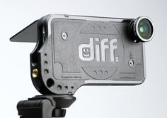Diff Lens Mount iPhone Case