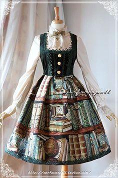 Falda de Libros