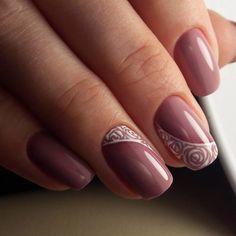 Nail Shapes - My Cool Nail Designs Elegant Nails, Classy Nails, Stylish Nails, Trendy Nails, Beautiful Nail Designs, Beautiful Nail Art, Acrylic Nail Shapes, Acrylic Nails, Rose Nails