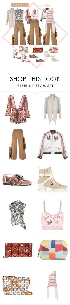 """""""Dress it Up Your Style 1"""" by alexxa-b ❤ liked on Polyvore featuring Roberto Cavalli, AllSaints, MSGM, Gucci, N°21, Christian Louboutin, self-portrait, STELLA McCARTNEY, Bao Bao by Issey Miyake and Tory Burch"""