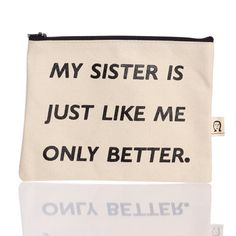 pamela barsky: My Sister Pouch