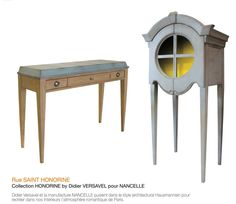 collection Rue St honorine Edition Nancelle Design by Didier VERSAVEL