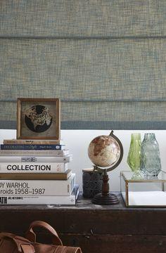 Mini estampes Canards Animaux Lin Look Rideau en tissu recouvert de stores