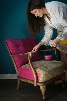 Sessel Makeover Neuer Anstrich 2 ähnliche tolle Projekte und Ideen wie im Bild vorgestellt findest du auch in unserem Magazin . Wir freuen uns auf deinen Besuch. Liebe Grüß