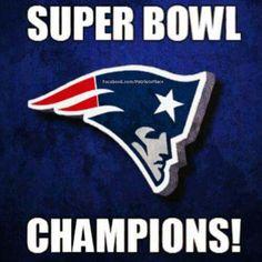 New England Patriots Super Bowl 49 Champions