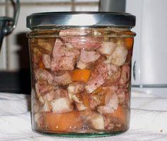 Sülze im Glas eingekocht, ein gutes Rezept aus der Kategorie Gemüse. Bewertungen: 11. Durchschnitt: Ø 4,3.