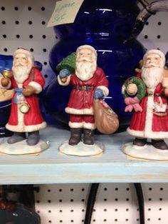 Vintage Christmas Santa Claus at Scranberry Coop