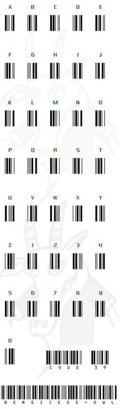 LIFE HACK. How to use barcode to write anything you want.