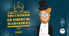 Bal de l'internat 2016 - La belle époque Interne de médecine Paris Association pour la préservation du patrimoine de l'internat APPI