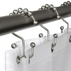 Nice! Double shower curtain hook :: Mohen is one brand that makes them