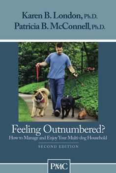 Written to help you maximize the joy of living in a multi-dog household, Feeling Outnumbered uses the study of animal behavior and positive training methods to teach your dogs to be polite and patient instead of demanding and pushy. Filled with practical ideas about keeping life fun in houses with two or more dogs, this book is a great resource for all multiple dog owners, whatever their level of training experience
