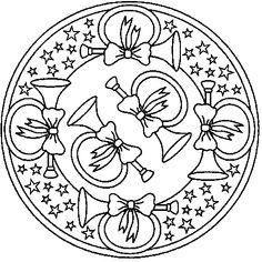 Mandala Rendieren Kleurplaat Mandala S Pinterest