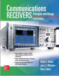 Communications Receivers Principles And Design 4th Edition PDF Textbook