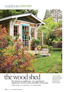 Gardening Shed. Slap a green roof on that beauty and then we're good!