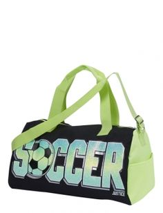 Shop Soccer Glow in the Dark Sports Duffle and other trendy girls totes & duffles bags & luggage at Justice. Find the cutest girls bags & luggage to make a statement today.