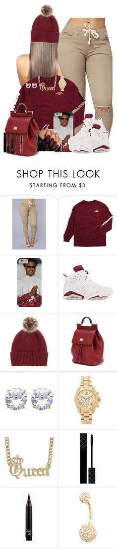 """Untitled #309"" by obeyakira ❤ liked on Polyvore featuring Helen Moore, Dolce&Gabbana, Michael Kors and Gucci"
