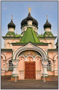 Pokrovsky Women's Monastery. Pushcha-Voditsa, Kiev, Kiev City Municipality, Ukraine.
